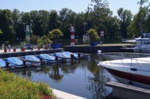 Yachthafen und Bootsverleih Havel Marin in Brandenburg an der Havel