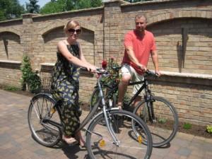 Mit dem Fahrrad durch Brandenburg an der Havel