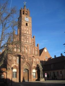 Rathaus Brandenburg mit Roland